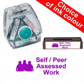 School Stamps | Self / Peer Assessed Work. Xstamper 3-in-1 Twist Stamp