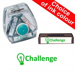 School Stamps | Challenge. Xstamper 3-in-1 Twist Stamp