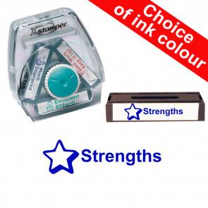 School Stamps | Strengths Xstamper 3-in-1 Twist Stamp