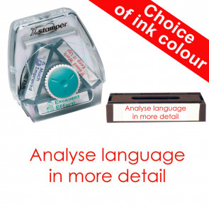 School Stamps | Analyse language in more detail Xstamper 3-in-1 Twist Stamp