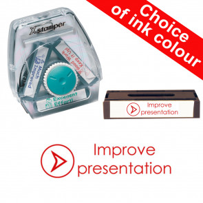 School Stamps | Improve presentation. Xstamper 3-in-1 Twist Stamp