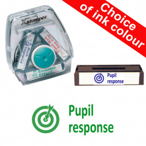 School Stamps | Pupil response. Xstamper 3-in-1 Twist Stamp