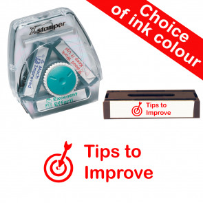 School Stamps | Tips to improve 3-in-1 Twist Stamp.
