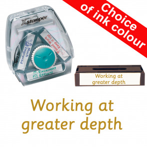 School Stamps | Working at greater depth. Xstamper 3-in-1 Twist Stamp