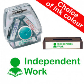 School Stamps | Independent Work Xstamper 3-in-1 Twist Stamp