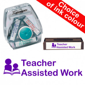 School Stamps | Teacher Assisted Work 3-in-1 Twist Stamp