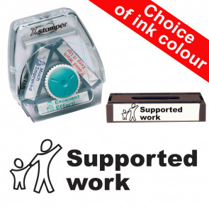 School Stamps | Supported Work Xstamper 3-in-1 Twist Stamp