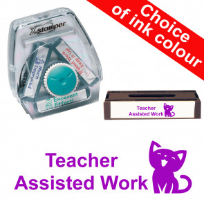 School Stamps | Teacher Assisted Work Xstamper 3-in-1 Twist Stamp