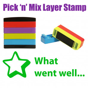 Teacher Stamps |  What went well... Pick'n'Mix Stakz Layer Multi Stamp.