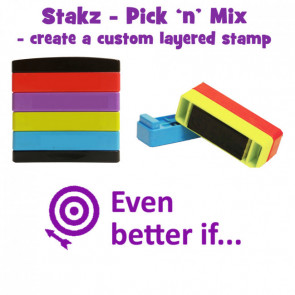 Teacher Stamps | Even better if... Pick'n'Mix Stakz Layer Multi Stamp