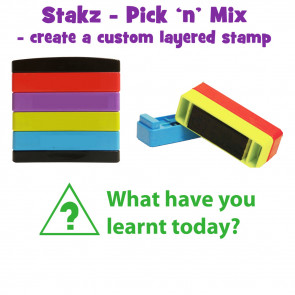 Teacher Stamps | What have you learnt today? Pick'n'Mix Stakz Layered Multistamp