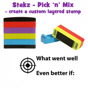 Teacher Stamps | What went well. Even better if: Pick'n'Mix Stakz Layer Multi Stamp.