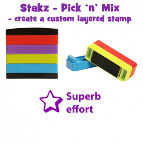Teacher Stamps | Superb effort Pick'n'Mix Stakz Layer Multi Stamp.