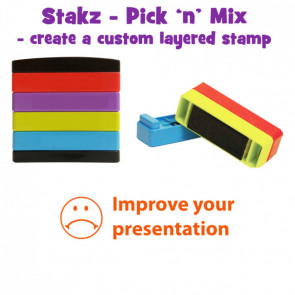 Teacher Stamps | Improve your presentation: Pick'n'Mix Stakz Layer Multi Stamp.