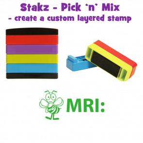 Teacher Stamps | MRI: Pick'n'Mix Stakz Layered Multistamp