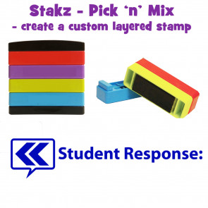 Teacher Stamps | Student response: Pick'n'Mix Stakz Layered Multistamp
