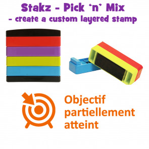 Teacher Stamps | Objecif partiellement atteint Pick'n'Mix Stakz Layered Multistamp