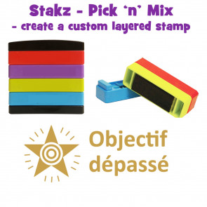 Teacher Stamps | Objecif dépassé Pick'n'Mix Stakz Layered Multistamp