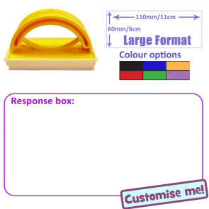 Teacher Stamp | Response box: For Student / Pupil Written Response