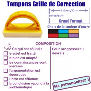 Tampons encreurs | Grand Format 5x5cm - Composition