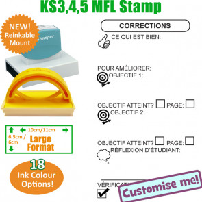 MFL Stamps | French Language Large Stamp
