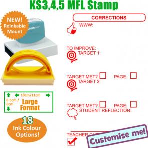 MFL Stamps | English Language Large Stamp