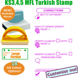 MFL Stamps | Turkish Language Large Stamp