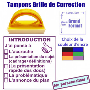 Tampon encreur | Grille de Correction - Introduction