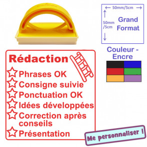 Teacher Stamp | French Language - Literacy Checklist - Dictée