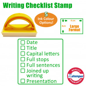 School Stamp | Writing Checklist Stamp KS2