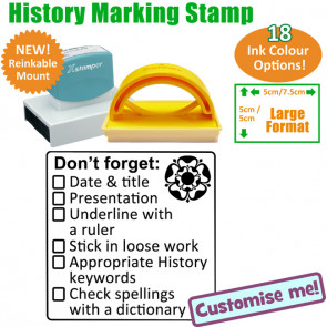 School Stamp | History Marking Stamp