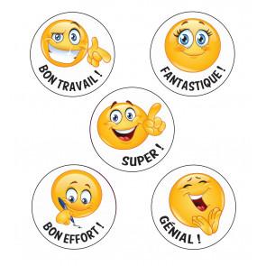 Reward Stickers | Bon Travail ! French Language Emoji Stickers