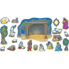 Children's Wall Charts and Posters | Nativity Scene