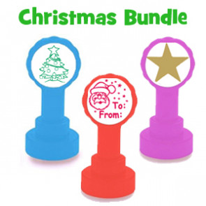 School Teacher Stamp | 3 Stamp Christmas Marking Set