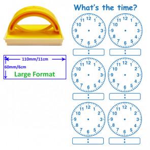 Teacher Stamp   Digital and Analogue Clock Stamp.