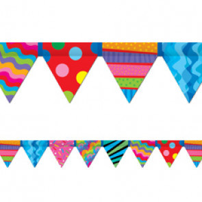 Display trimmers / borders | Poppin Patterns Pennant