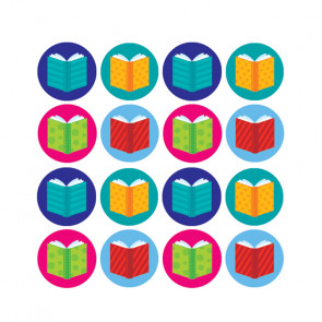 Teacher Reward Stickers | Book Hot Spot Mini Stickers
