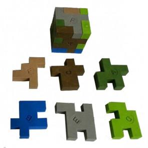 Kids Erasers | Minecraft Block Style Puzzle Erasers