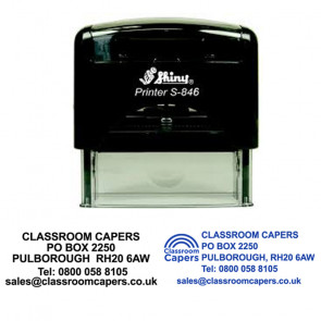 Office Stamps   Personalised address stamp