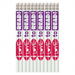 Pencils for Kids | 12 x I Love To Read HB Pencils