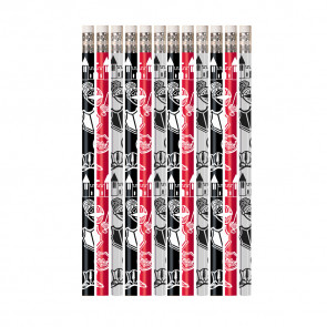 Pencils for Kids | 12 x History Design Pencils