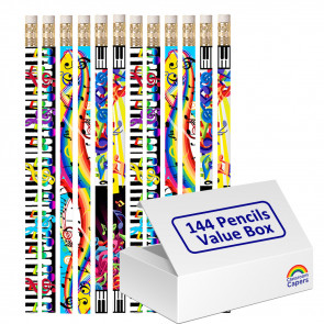 Bulk Kids Pencils | 144 x Mega Music Pencils