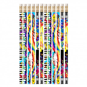 Pencils for Kids | 12 x Mega Music Pencils