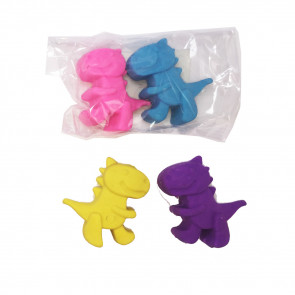 Kids Erasers | Dinky Dinosaur Erasers for Class Gifts / Party Bags.
