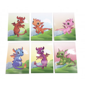 Class Gifts | Cute Dragons Notepads x 12