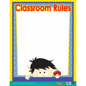 Classroom Teacher Resources | Class Rules Wipe Off Poster