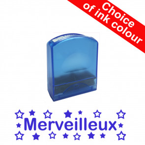 Teacher Stamps | Merveilleux Self-inking French Value Stamp Range.