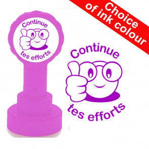 School Stamps | Continue tes efforts French MFL Teacher Stamp