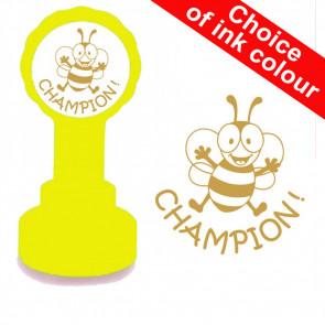 School Stamps | Champion - Bee Design Teacher Stamp