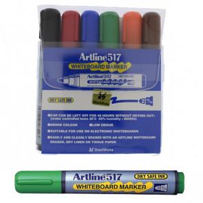 Whiteboard Markers | Artline EK517 - Wallet Set 6 Pens